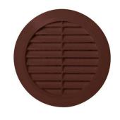 Kratka wentylacyjna COCO 15cm tworzywo brązowy