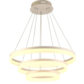 Lampa wisząca CIRCLE PENDANT 60cm LED akryl chrom