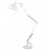 Lampa podłogowa ADELAIDA 167cm biały matowy metal 40W
