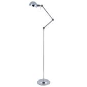 Lampa podłogowa KADINA 150cm chrom metal E14