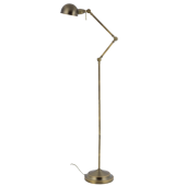 Lampa podłogowa KADINA 150cm mosiądz metal E14