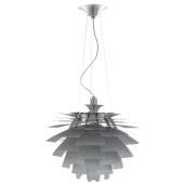Lampa wisząca NICKY MDE204/1-56-ALU Italux aluminium
