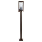 Lampa ogrodowa stojąca BAGOS antyczny brąz IP44  OD RĘKI
