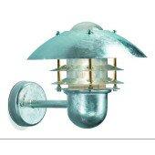 Lampa kinkiet galwanizowany FRIDA szary IP 23 Markslojd 296576