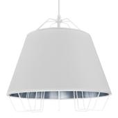 Lampa wisząca żyrandol SORENTO White biała 36,5 cm kuchnia jadalnia długość 110 cm