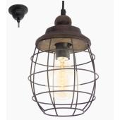 Lampa żyrandol VINTAGE brązowa patyna loft OD RĘKI PROMOCJA WIOSENNA