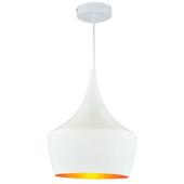 Lampa wisząca żyrandol SORENTO White biała 25 cm kuchnia jadalnia długość 110 cm