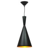 Lampa wisząca żyrandol SORENTO Black czarna 19 cm kuchnia jadalnia długość 110 cm