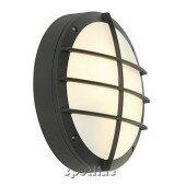 Lampa ogrodowa BULAN GRID okrągła, antracyt, E27, maks. 2x25W