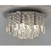 Lampa plafon łazienkowa Evros 7190 kryształ