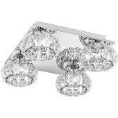 Lampa plafon sufitowa EGLO CORLIANO 39009 kryształ led od ręki