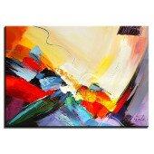 Obraz 50x70cm abstrakcja olejny ręcznie malowany